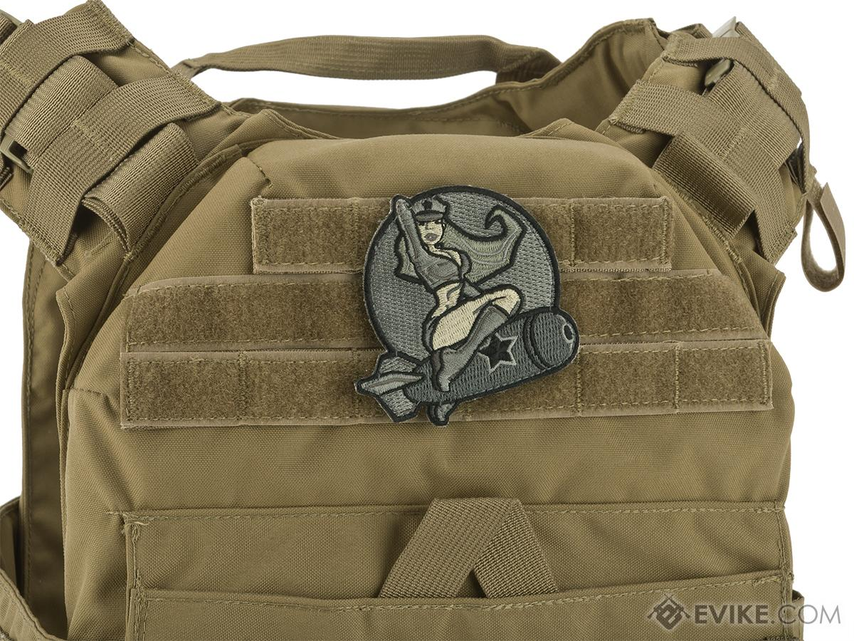 Mil-Spec Monkey Pin-up Girl #1 Morale Patch (Color: ACU)