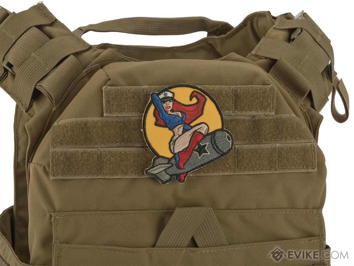 Mil-Spec Monkey Pin-up Girl #1 Morale Patch (Color: Full Color)