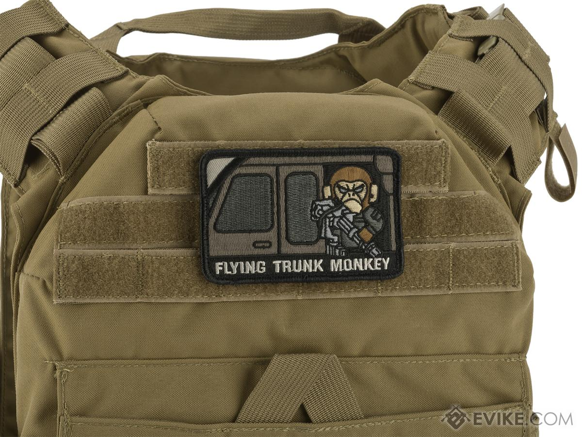 Mil-Spec Monkey Tactical Trunk Monkey Hook and Loop Patch(Color: Swat)