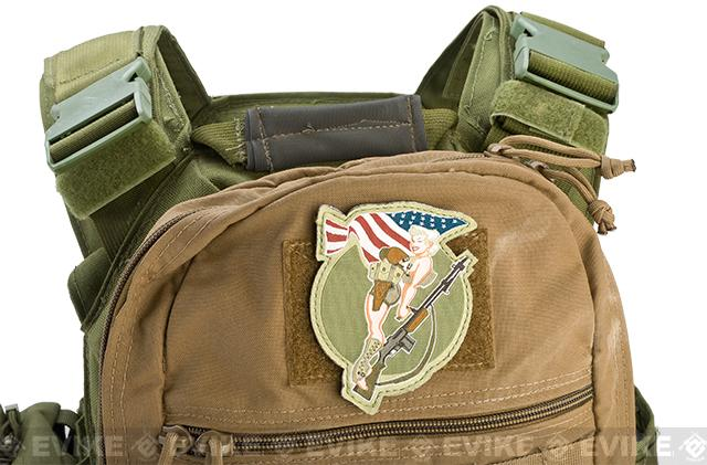 Mil-Spec Monkey BAR Girl Patch - Full Color