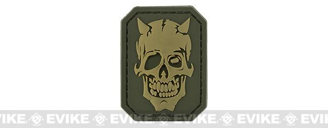 Mil-Spec Monkey MM Devil Skull PVC Patch - Multicam