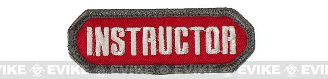 Mil-Spec Monkey Instructor Patch - Red