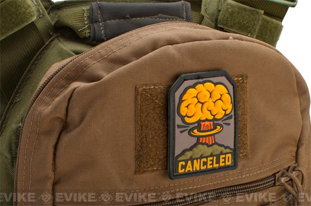 Mil-Spec Monkey Canceled PVC  Patch - Full Color