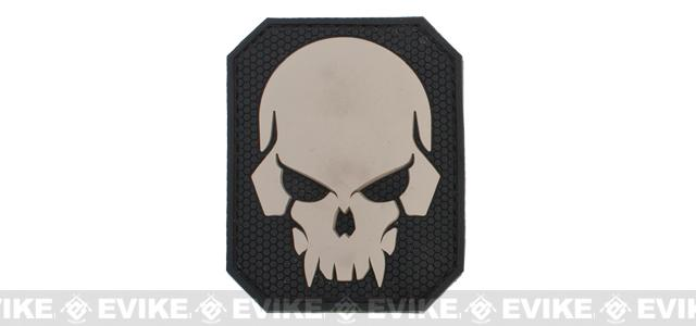 Mil-Spec Monkey Pirate Skull - Large PVC Patch - SWAT