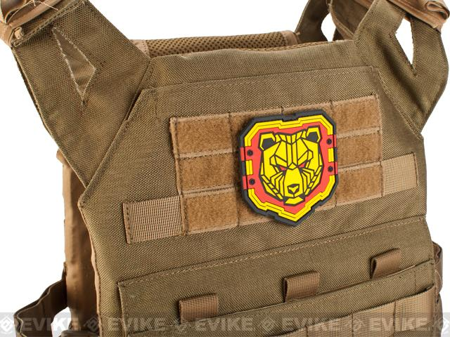 Mil-Spec Monkey Industrial Bear PVC  Patch - Full Color