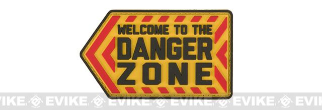 Mil-Spec Monkey Danger Zone PVC Morale Patch - Full Color