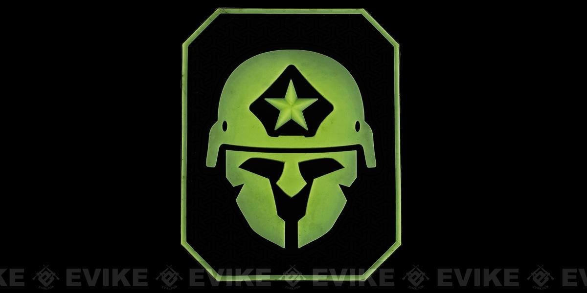 Mil-Spec Monkey PVC Modern Spartan Patch - Glow in the Dark