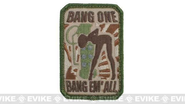 Mil-Spec Monkey Bang One, Bang Em All Patch - Small / Multicam