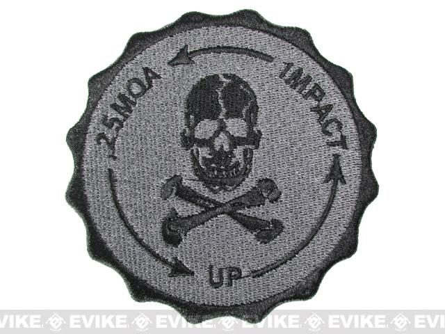 Hook Backed 0.25 MOA Sniper Patch - Black