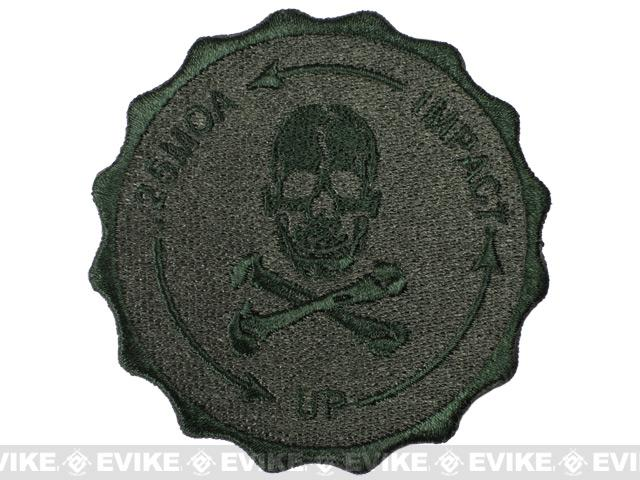 Hook Backed 0.25 MOA Sniper Patch - OD