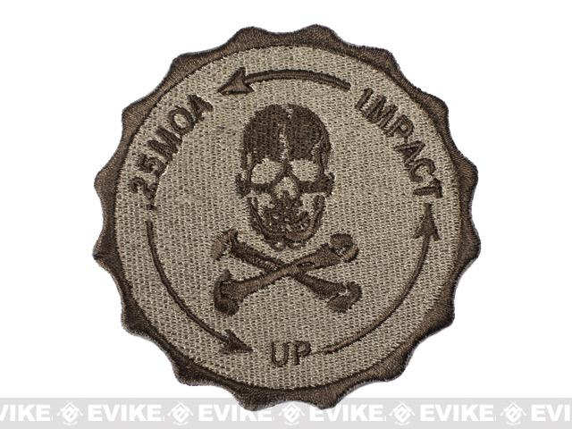 Hook  Backed 0.25 MOA Sniper Patch - Tan