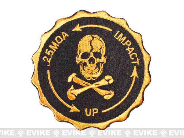 Hook Backed 0.25 MOA Sniper Patch - Gold