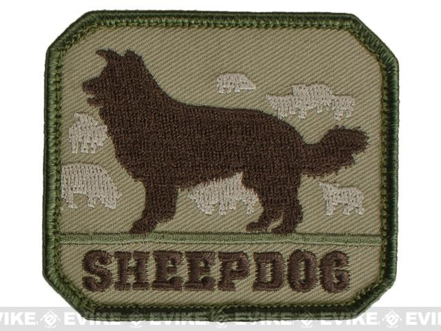 Mil-Spec Monkey Sheepdog Hook and Loop Patch - Multicam