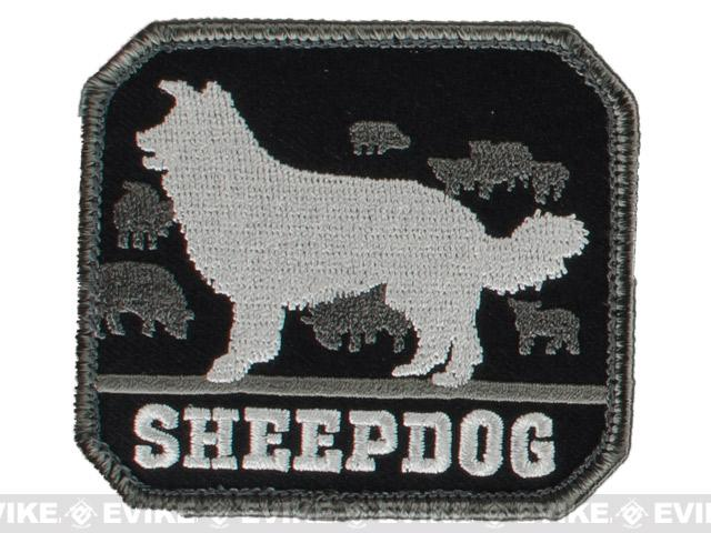 Mil-Spec Monkey Sheepdog Hook and Loop Patch - SWAT