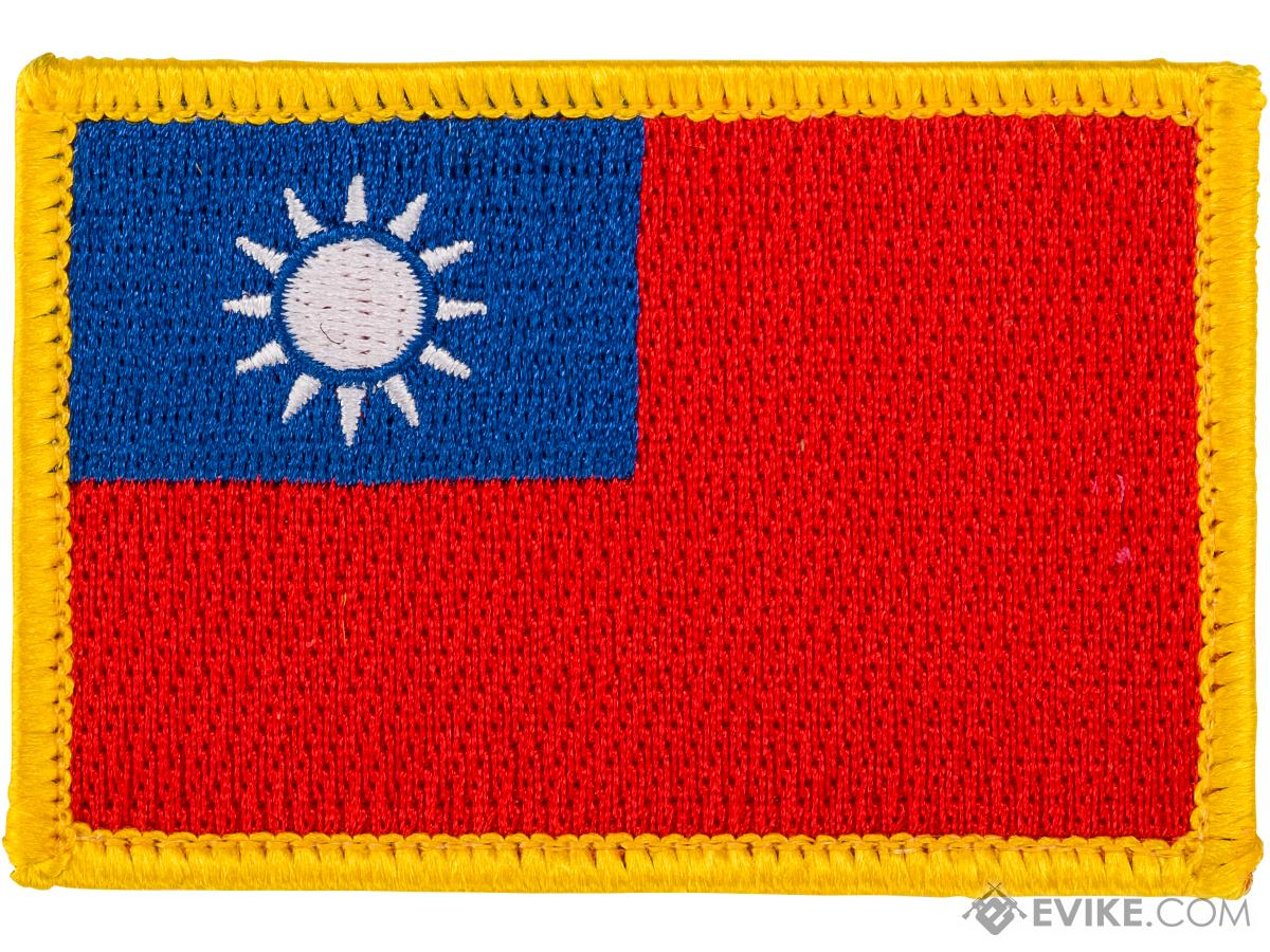 Matrix Hook and Loop Morale Patch (Country: Taiwan)