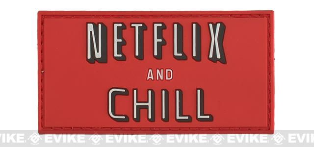Aprilla Design Group Netflix & Chill Patch - Full Color