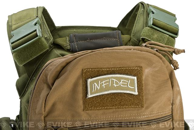 Rothco Infidel Hook and Loop Shoulder Patch