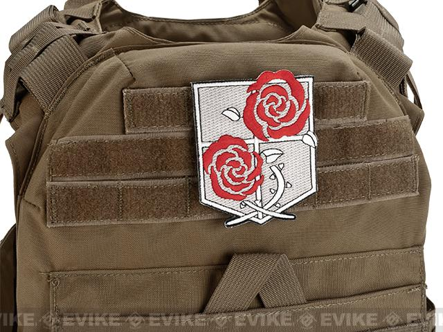 High Quality Embroidered IFF Hook and Loop Patch - Garrison