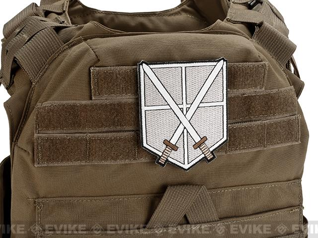 High Quality Embroidered IFF Hook and Loop Patch - Training Corps