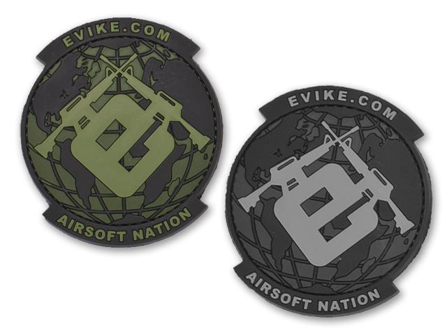 Evike.com Airsoft Nation PVC Morale Patch - SWAT