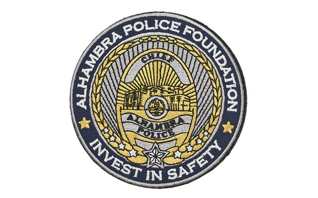 Evike.com Alhambra Police Foundation Shield Morale Patch