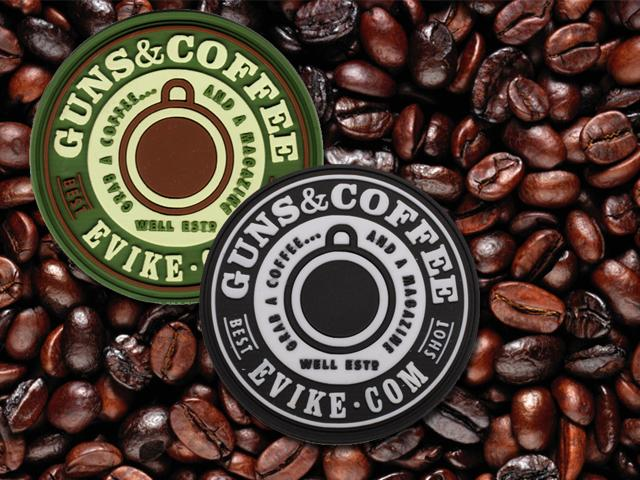 Guns & Coffee 2oz Acrylic Shotgun Shell Espresso Shot Glass