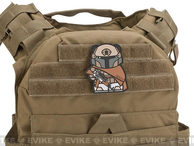 Epik Panda Panda Tactical PVC Rubber Hook and Loop Morale Patch - Desert Tactical Armor