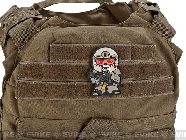 Epik Panda Tank Panda PVC Rubber Hook and Loop Morale Patch