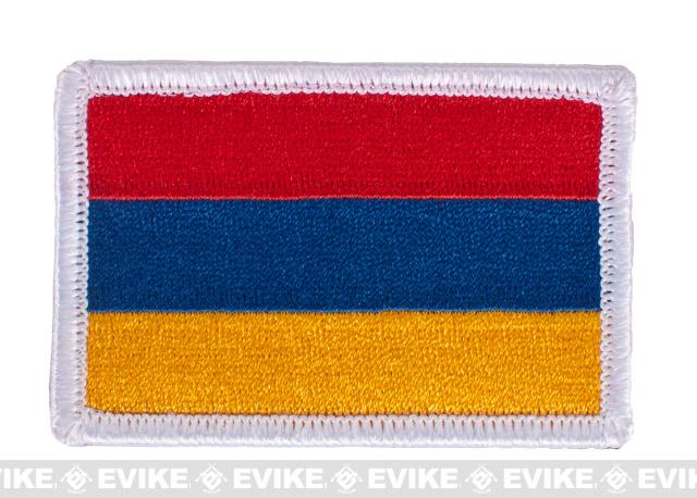 Matrix Velcro Flag Patch - Armenia