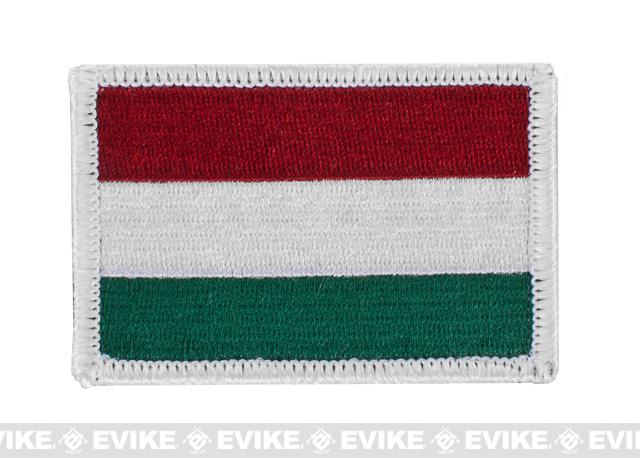 Matrix Velcro Hungary Flag Patch