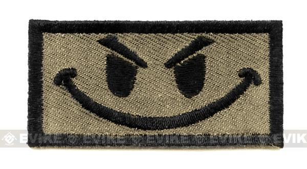 King Arms Funny Patch w/ Velcro. (TAN)