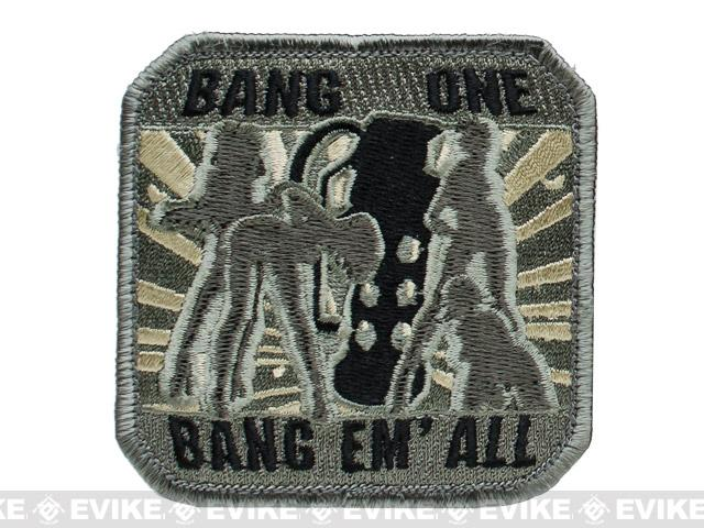 Mil-Spec Monkey Bang One, Bang Em All Patch - (Large / ACU)