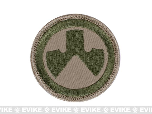 Magpul Dynamics Logo Circle Hook and Loop Patch - Multicam