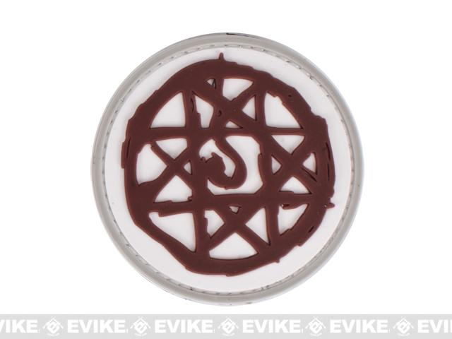 PVC Morale IFF Hook and Loop Patch - Blood Mark (2.5)