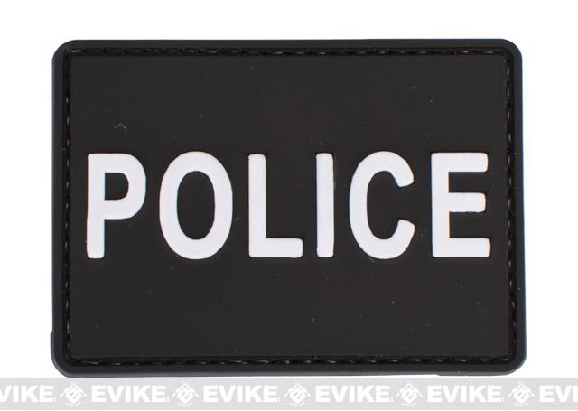 PVC Velcro Patch - POLICE