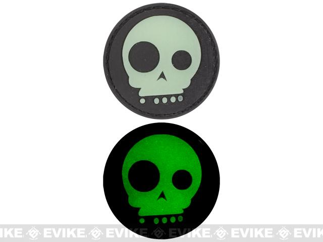 Glow in the Dark PVC Velcro Patch -