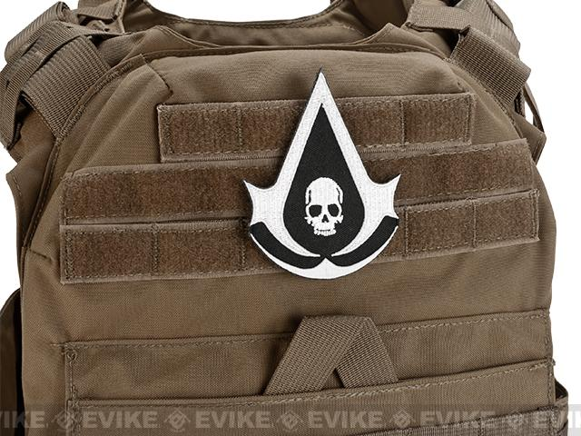 High Quality Embroidered IFF Hook and Loop  Patch - Assassin