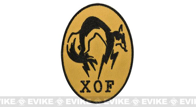 High Quality Embroidered IFF Hook and Loop Patch - XOF