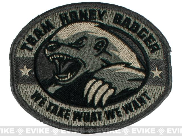 Mil-Spec Monkey Honey Badger Embroidered Patch - ACU