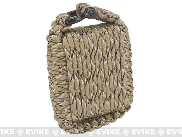 Evike.com Outdoor Survival Paracord Survival Kit - Dark Earth