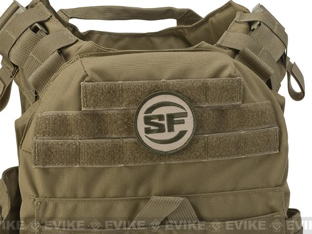 SureFire® Embroidered Logo Velcro® Patch - OD / Tan