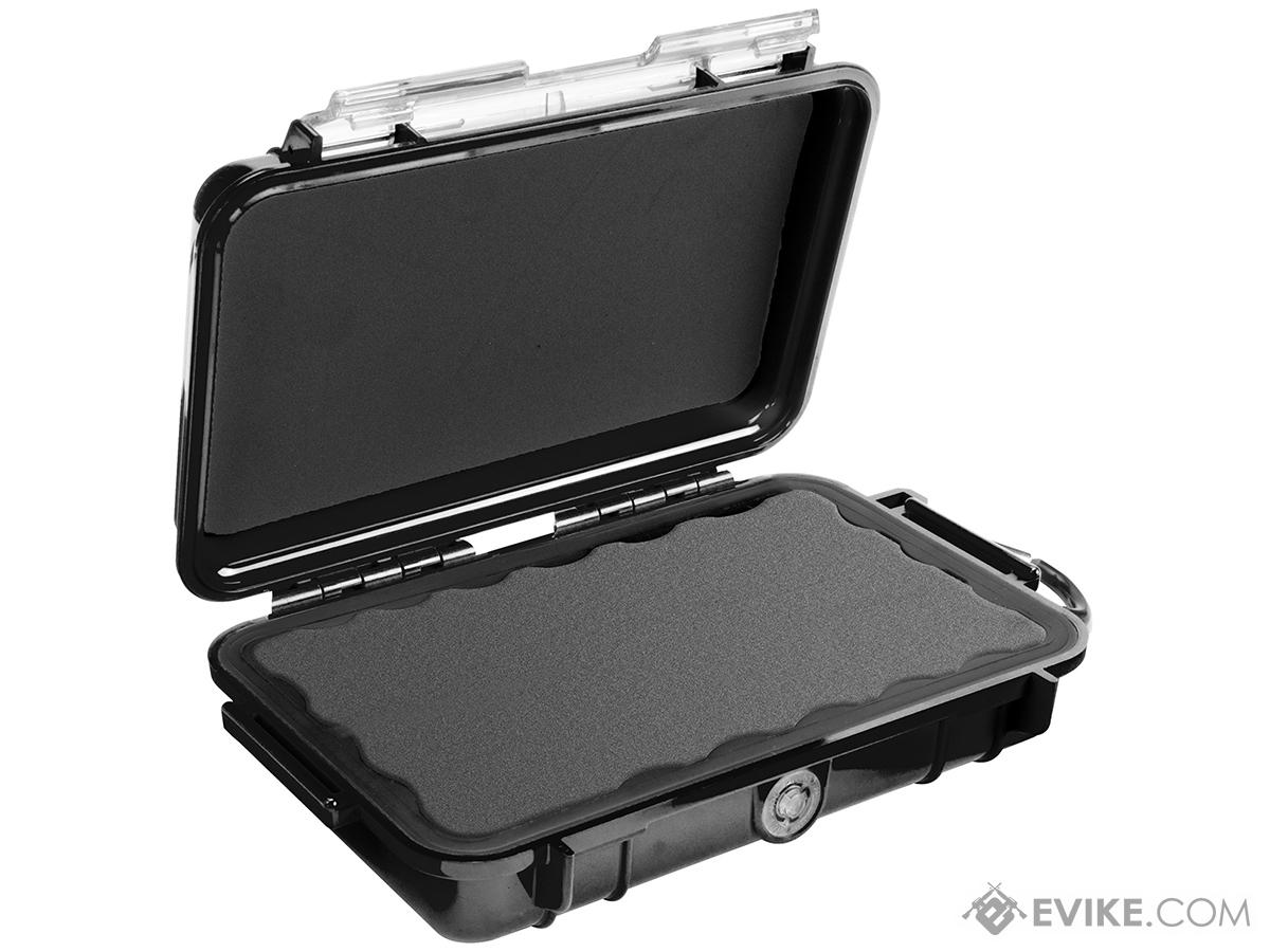 Pelican™ 1040 Micro Case - Clear w/ Black Colored Lining