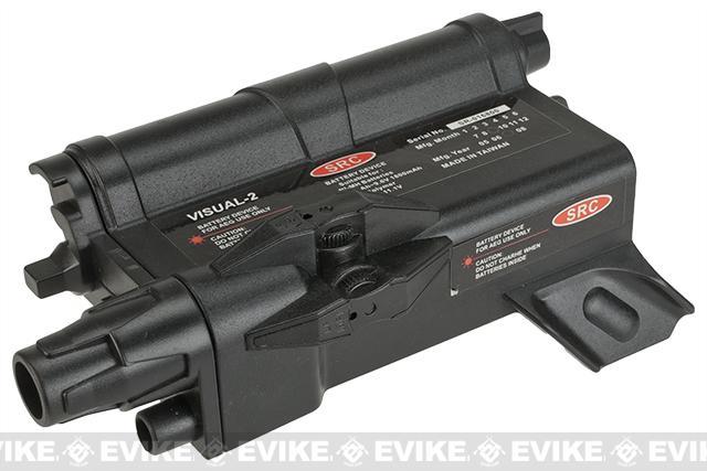 V-Tac Visual-2 External Battery Box / Mock PEQ Box - Black