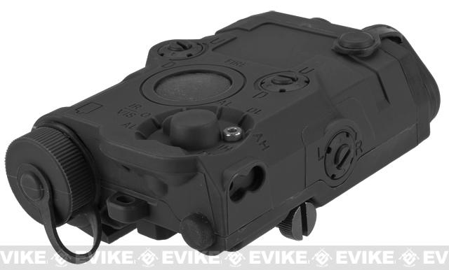 Matrix Airsoft PEQ-15 Battery Box w/ Laser System - Red Laser / Black
