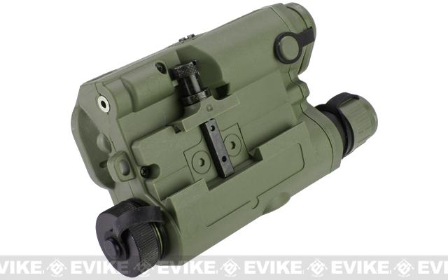 Matrix PEQ-15 Type Laser & Flashlight Combo w Remote Pressure Switch (Green Laser / OD Green)