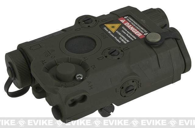 Avenger Airsoft Mock Modular AN / PEQ-15 Battery Case (OD Green)