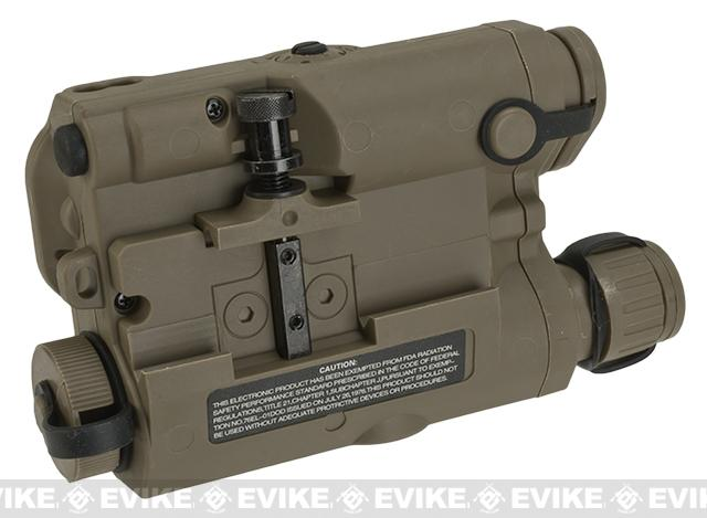 Avenger Airsoft Mock Modular AN / PEQ-15 Battery Case (Tan)
