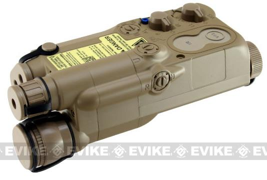 Avenger Airsoft Mock Modular AN / PEQ-16 Battery Case (Dark Earth)