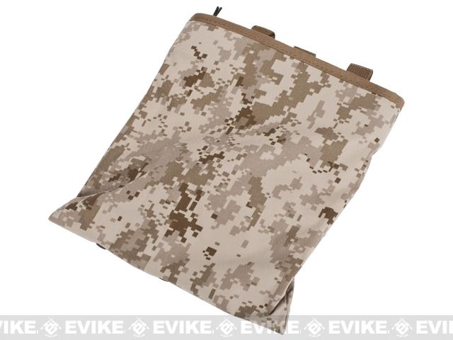 Phantom High Speed Belt / MOLLE Magazine Dump Pouch (Foldable) - Digital Desert Marpat