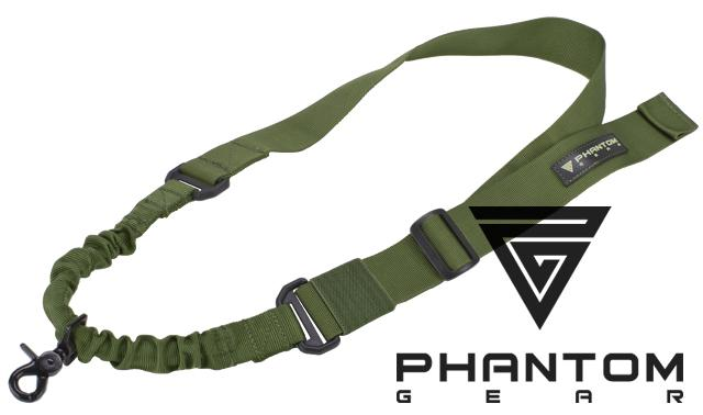 Phantom Gear Level-1 Operator One-Point Bungee Sling - OD Green